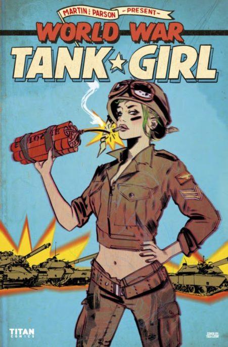 world war 2 tank girl